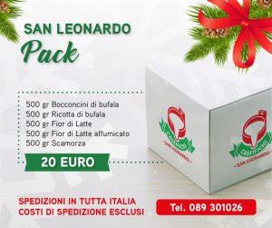san leonardo pack - caseificio san leonardo - pacco natalizio formato famiglia