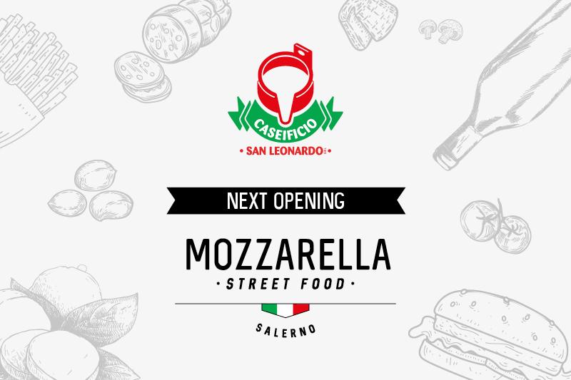 Apre a Salerno il primo store di Mozzarella Street Food